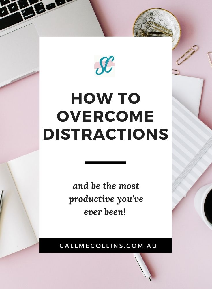 How to overcome distractions